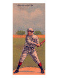 Boston, MA, Boston Red Sox, Tris Speaker, Baseball Card Poster