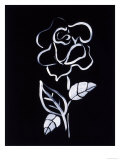 Shadow Rose Giclee Print by Susan Gillette