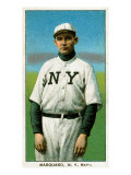 New York City, NY, New York Giants, Rube Marquard, Baseball Card Poster