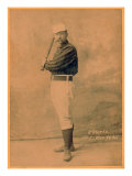New York City, NY, New York Giants, Jim O'Rourke, Baseball Card Poster