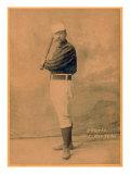 New York City, NY, New York Giants, Jim O'Rourke, Baseball Card Poster