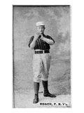 New York City, NY, New York Giants, John Roach, Baseball Card Poster