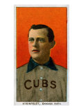 Chicago, IL, Chicago Cubs, Harry Steinfeldt, Baseball Card Prints by  Lantern Press