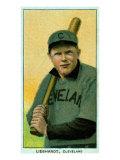 Cleveland, OH, Cleveland Naps, Glenn Liebhardt, Baseball Card Poster