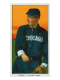 Chicago, IL, Chicago White Sox, Lou Fiene, Baseball Card Poster