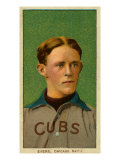 Chicago, IL, Chicago Cubs, Johnny Evers, Baseball Card Art