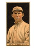 Chicago, IL, Chicago White Sox, Joseph Benz, Baseball Card Posters