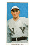 New York City, NY, New York Giants, Buck Herzog, Baseball Card Posters