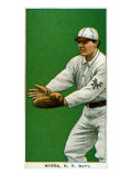 New York City, NY, New York Giants, Myers, Baseball Card Print