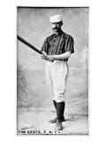 New York City, NY, New York Giants, Tim Keefe, Baseball Card Print