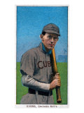 Chicago, IL, Chicago Cubs, Johnny Evers, Baseball Card Prints by  Lantern Press