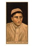 Chicago, IL, Chicago White Sox, Russell Blackburne, Baseball Card Print