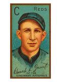 Cincinnati, OH, Cincinnati Reds, Edward L. Grant, Baseball Card Print