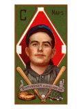 Cleveland, OH, Cleveland Naps, Joseph Birmingham, Baseball Card Print