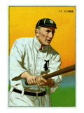 Detroit, MI, Detroit Tigers, Tyrus Raymond Cobb, Baseball Card Print by  Lantern Press
