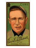 Chicago, IL, Chicago Cubs, Frank J. Chance, Baseball Card Print