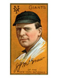 New York City, NY, New York Giants, John J. McGraw, Baseball Card Posters by  Lantern Press