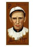 Philadelphia, PA, Philadelphia Phillies, Sherwood R. Magee, Baseball Card Posters by  Lantern Press