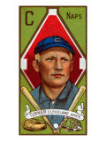 Cleveland, OH, Cleveland Naps, Terence Turner, Baseball Card Posters