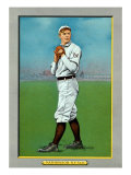 New York City, NY, New York Giants, Christy Mathewson, Baseball Card Print