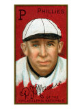 Philadelphia, PA, Philadelphia Phillies, Patrick J. Moran, Baseball Card Print by  Lantern Press