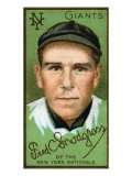 New York City, NY, New York Giants, Frederick C. Snodgrass, Baseball Card Print