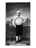 Detroit, MI, Detroit Wolverines, Ned Hanlon, Baseball Card Print