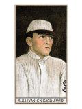 Chicago, IL, Chicago White Sox, William Sullivan, Baseball Card Print