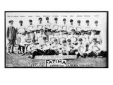 Cleveland, OH, Cleveland Naps, Team Photograph, Baseball Card Prints by  Lantern Press