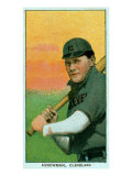 Cleveland, OH, Cleveland Naps, Bill Hinchman, Baseball Card Print