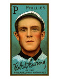 Philadelphia, PA, Philadelphia Phillies, Robert Ewing, Baseball Card Posters by  Lantern Press