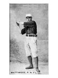New York City, NY, New York Giants, Mike Mattimore, Baseball Card Posters