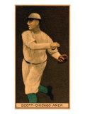 Chicago, IL, Chicago White Sox, Jim Scott, Baseball Card Posters