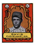 Cleveland, OH, Cleveland Naps, Davis, Baseball Card Posters