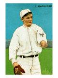 New York City, NY, New York Giants, Richard Marquard, Baseball Card Poster