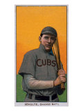 Chicago, IL, Chicago Cubs, Wildfire Schulte, Baseball Card Prints by  Lantern Press