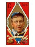 Cleveland, OH, Cleveland Naps, Addie Joss, Baseball Card Poster