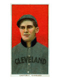 Cleveland, OH, Cleveland Naps, Ted Easterly, Baseball Card Poster
