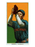 Cincinnati, OH, Cincinnati Reds, Tom Downey, Baseball Card Poster