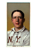 New York City, NY, New York Giants, Red Ames, Baseball Card Posters by  Lantern Press