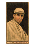 Chicago, IL, Chicago White Sox, Rollie Zeider, Baseball Card Posters
