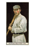 New York City, NY, New York Giants, Charles Herzog, Baseball Card Posters