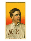 New York City, NY, New York Giants, Christy Mathewson, Baseball Card Posters