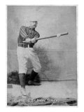 New York City, NY, New York Giants, George Gore, Baseball Card Posters