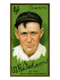 New York City, NY, New York Giants, W. R. Dickson, Baseball Card Posters