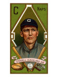 Cleveland, OH, Cleveland Naps, George T. Stovall, Baseball Card Posters by  Lantern Press
