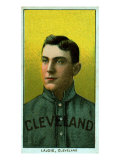 Cleveland, OH, Cleveland Naps, Nap Lajoie, Baseball Card Posters by  Lantern Press