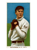 New York City, NY, New York Giants, Christy Mathewson, Baseball Card Prints by  Lantern Press