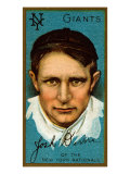 New York City, NY, New York Giants, Joshua Devore, Baseball Card Posters