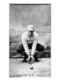 Philadelphia, PA, Philadelphia Athletics, Lou Bierbauer, Baseball Card Posters